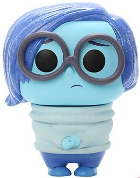 Funko Pop! Disney Sadness (Glitter)