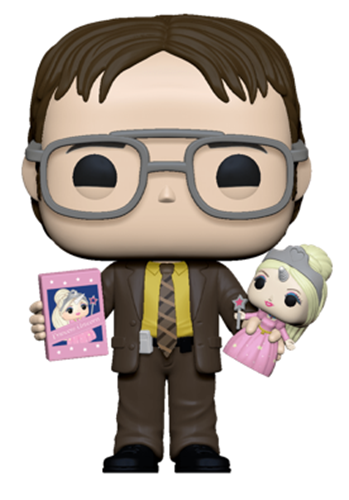 Funko Pop! Television Dwight w/ Doll