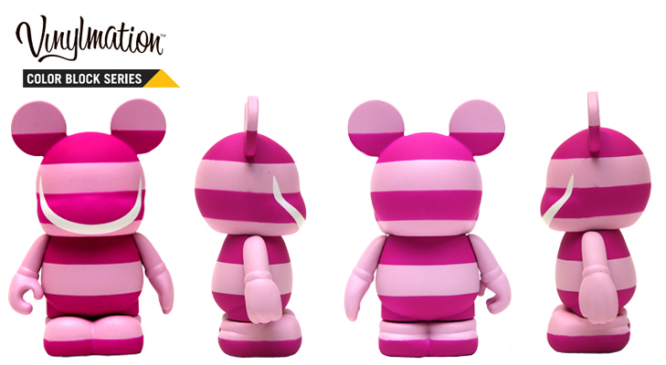 Vinylmation Open And Misc Color Block Cheshire Cat