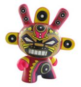 Kid Robot Blind Boxes Azteca Series 2 MiniGod (Red)