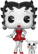 Funko Pop! Animation Betty Boop & Pudgy (B&W) - CHASE