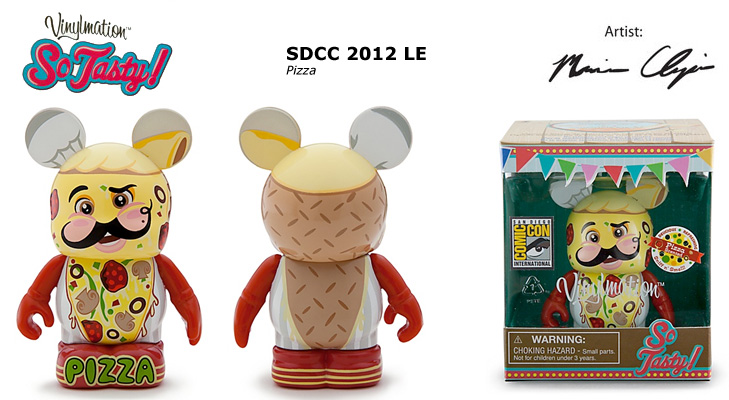 Vinylmation Open And Misc So Tasty Pizza