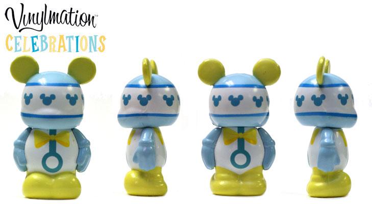 Vinylmation Open And Misc Celebrations Jr Baby Blue Rattle