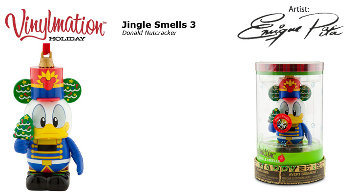 Vinylmation Open And Misc Jingle Smells 3 Donald Nutcracker