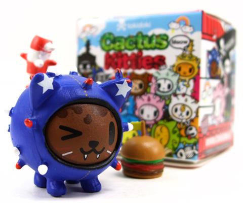 Tokidoki Cactus Kitties Series 1 Uncle Sammy Stock