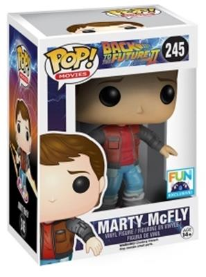 Funko Pop! Movies Marty McFly (Hoverboard) Stock