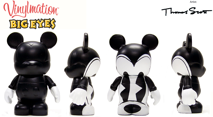 Vinylmation Open And Misc Big Eyes Pie-Eyed