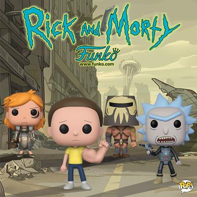 Funko Pop! Animation Morty (Sentient Arm)