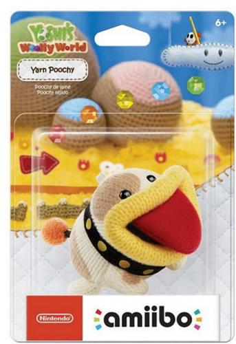 Amiibo Yoshi's Woolly World Yarn Poochy Stock