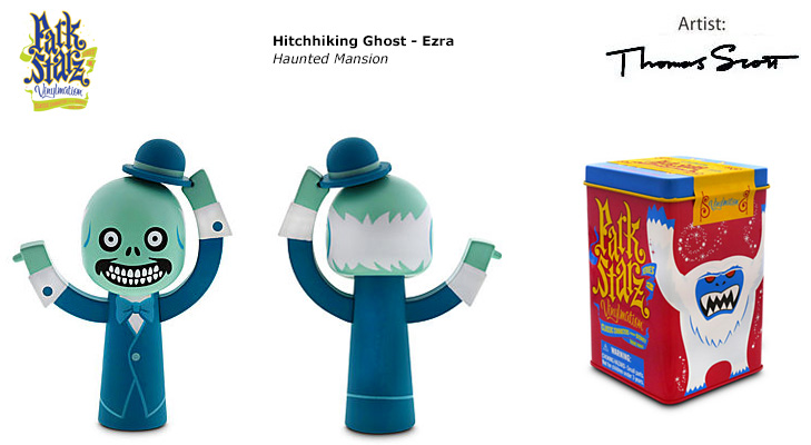 Vinylmation Open And Misc Park Starz 3 Hitchhiking Ghost - Ezra