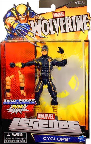 Marvel Legends Puck Series Cyclops