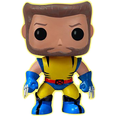 Funko Pop! Marvel Wolverine (Unmasked) (Glow in the Dark)