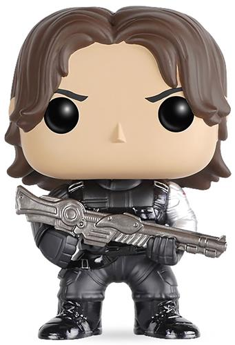 Funko Pop! Marvel Winter Soldier (Civil War)