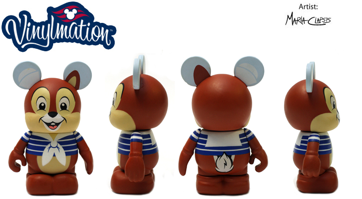 Vinylmation Open And Misc Disney Cruise Line Chip