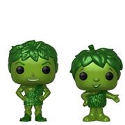 Funko Pop! Ad Icons Green Giant & Sprout - Metallic (2-Pack)