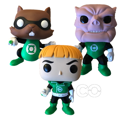 Funko Pop! Heroes Ch'p, Guy Gardner, & Kilowog Icon Thumb