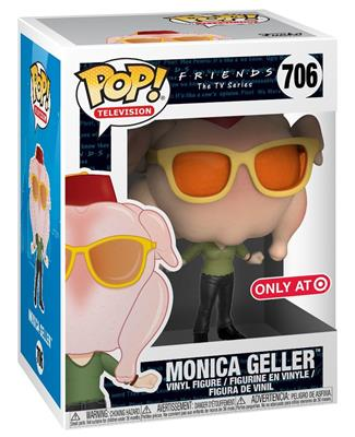 FRIENDS Figurine MONICA with TURKEY HEAD EXCLUSIVE N° 706 POP FUNKO