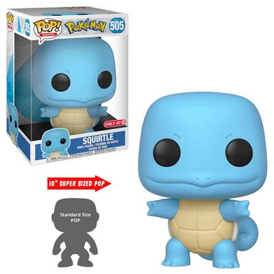 "Funko Pop! Games Squirtle (10"")"