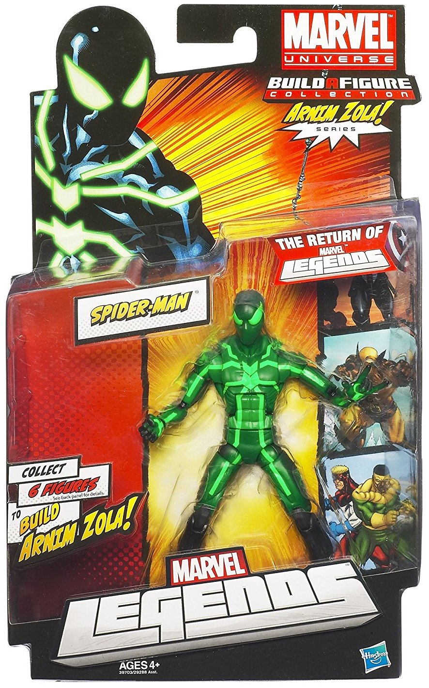 Marvel Legends Arnim Zola Series Spider-Man