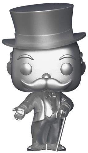 Funko Pop! Board Games Mr. Monopoly (Silver)