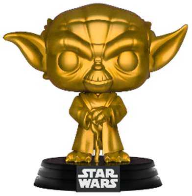 Funko Pop! Star Wars Yoda (Gold Metallic)