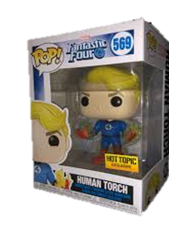 Funko Pop! Marvel Human Torch Stock