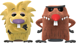 Funko Pop! Television Angry Beavers (Flocked)