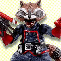 Marvel Legends Rocket Raccoon Series