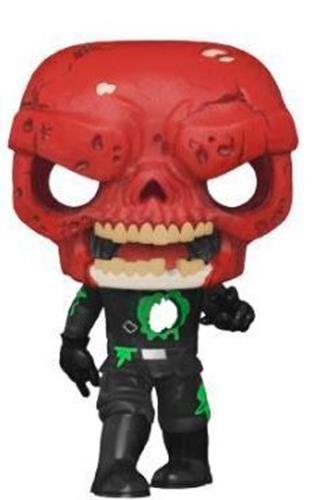 Funko Pop! Marvel Zombie Red Skull Icon