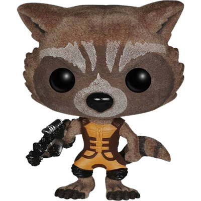 Funko Pop! Marvel Rocket Raccoon (Flocked)