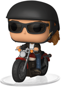 Funko Pop! Rides Carol Danvers on Motorcycle