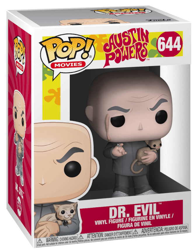 Funko Pop! Movies Dr. Evil Stock