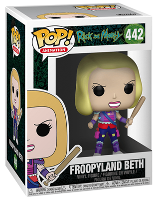 Funko Pop! Animation Beth (Froopyland) Stock