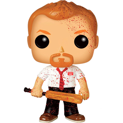 Funko Pop! Movies Shaun (Shaun of the Dead) (Bloody)