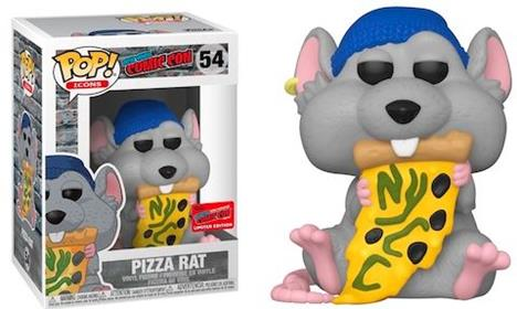 Funko Pop! Icons Pizza Rat with Blue Hat