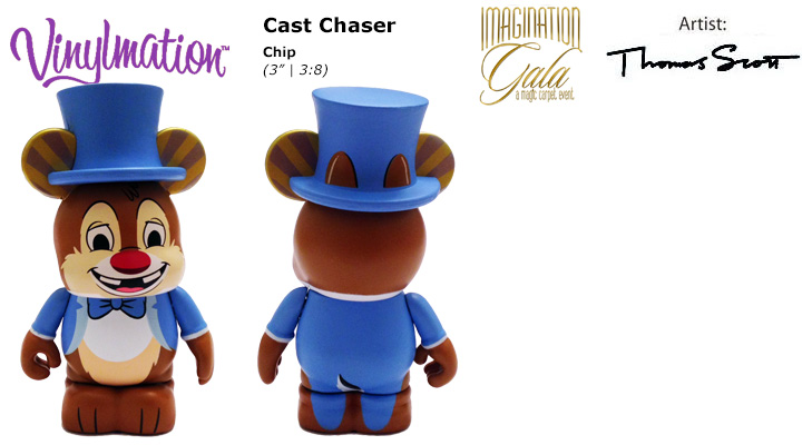 Vinylmation Open And Misc Imagination Gala Cast Chaser Dale - blue