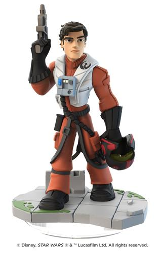 Disney Infinity Figures Star Wars Poe Dameron
