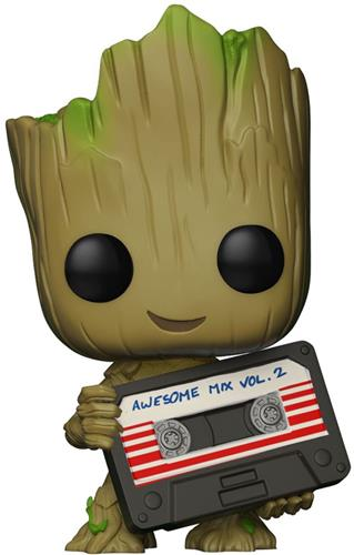 Funko Pop! Marvel Groot (w/ Mixtape)