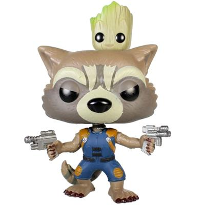 Funko Pop! Marvel Rocket (w/ Groot)