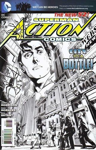 DC Comics Action Comics (2011 - 2016) Action Comics (2011) #7B Stock