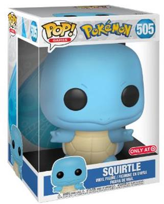 """Funko Pop! Games Squirtle (10"""") Stock"""