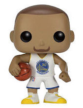 Funko Pop! Sports Stephen Curry (White Jersey)