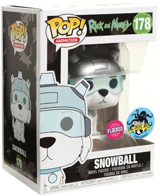 Funko Pop! Animation Snowball (Flocked) Stock