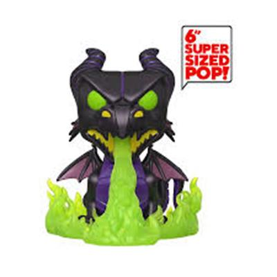 Funko Pop! Disney Maleficent as the Dragon (Metallic) (6 inch) (Glows in the Dark)