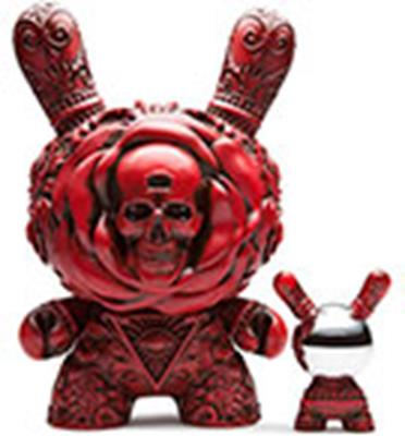 "Kid Robot 8"" Dunnys Clairvoyant (Red)"
