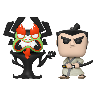 Funko Pop! Animation Aku & Samurai Jack (2-Pack)