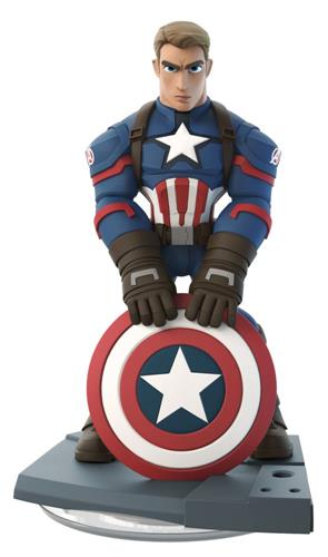 Disney Infinity Figures Marvel Comics Captain America - The First Avenger