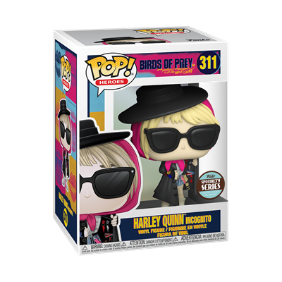 Funko Pop! Heroes Harley Quinn Incognito Stock