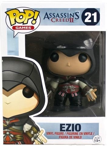 Funko Pop! Games Ezio (Black Hood) Stock