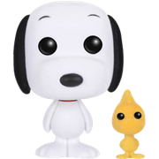 Funko Pop! Animation Snoopy & Woodstock (Flocked)